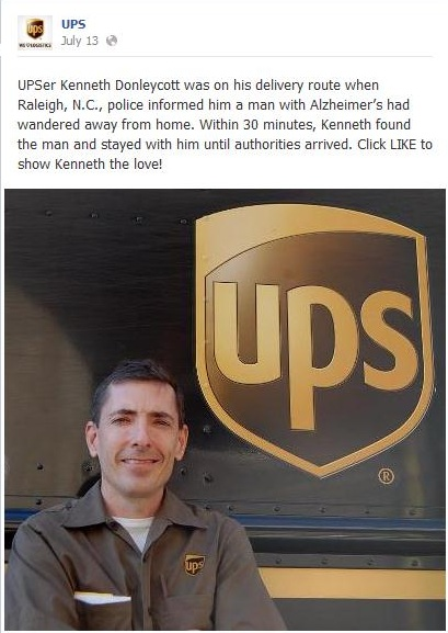 Post da UPS